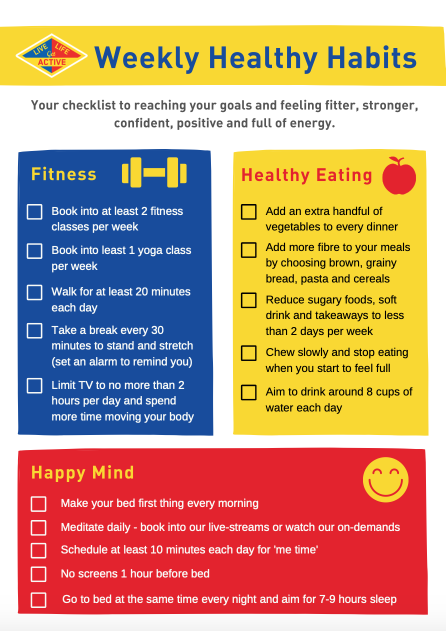 HEALHTY HABITS