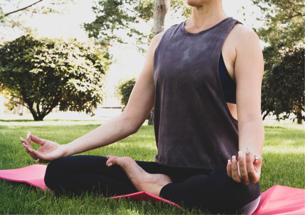 Meditation outside